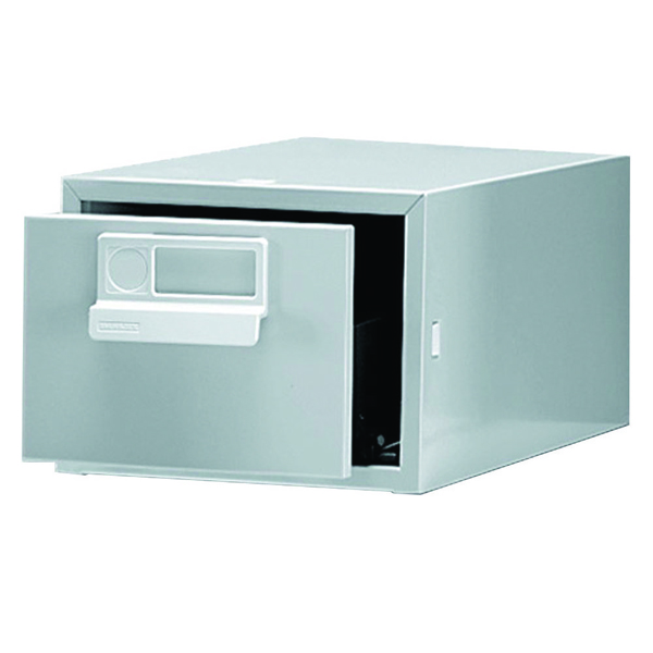 Bisley Card Index Cabinet 152x102mm Single Grey FCB14