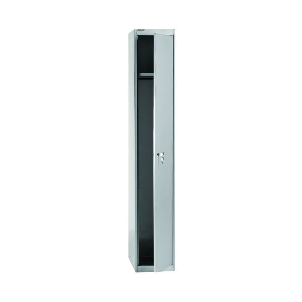 Bisley 1 Door Locker D305mm Goose Grey