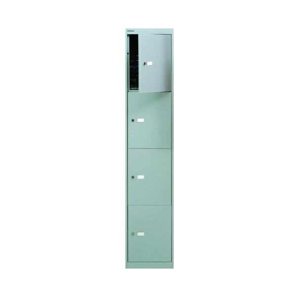 Image for Bisley 4 Door Locker D305mm Goose Grey BY09213