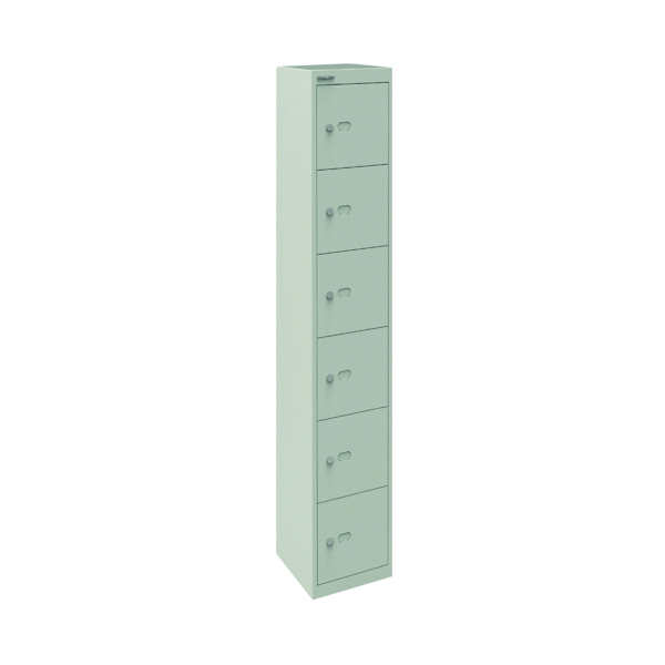 Bisley 6 Door Locker D305mm Goose Grey