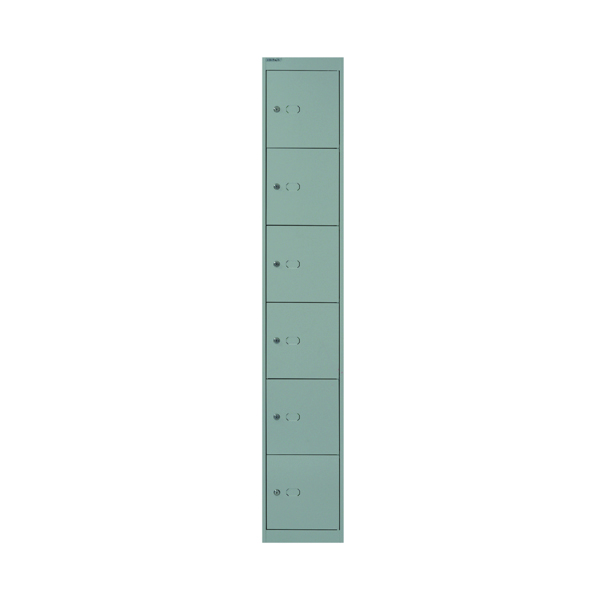 Bisley 6 Door Locker D457mm Goose Grey