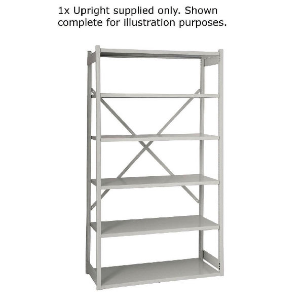 Bisley W1000xD460mm Grey Shelving Extension Kit 1018ESEXK46-AT4