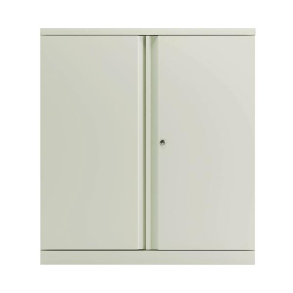 Image for Bisley 2 Door 1000mm Cupboard Empty Chalk White KF78710