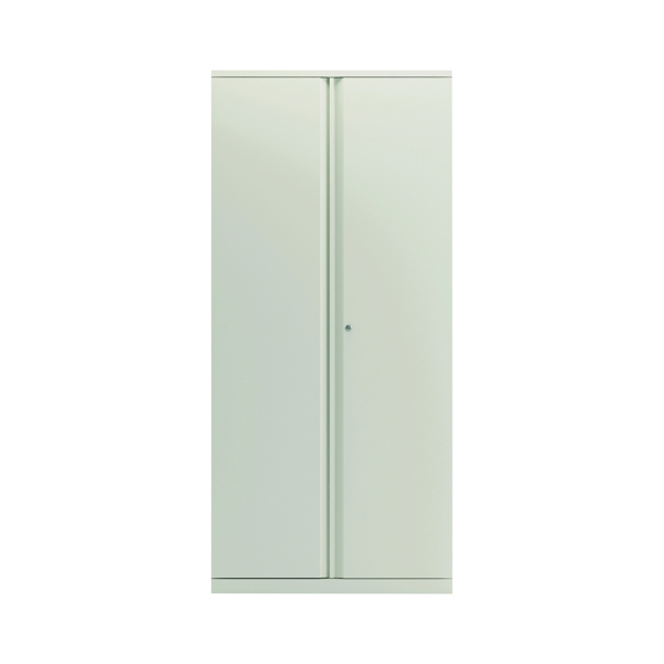 Bisley 2 Door 1970mm Cupboard Empty Chalk White KF78716