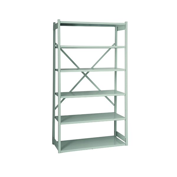 Image for Bisley Shelving Extension Kit W1000xD300mm Grey BY838031