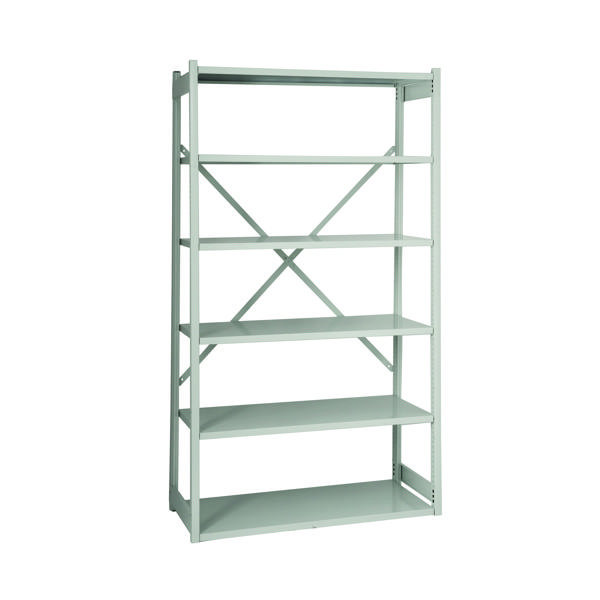 Bisley Shelving Starter Kit W1000xD460mm Grey BY838032