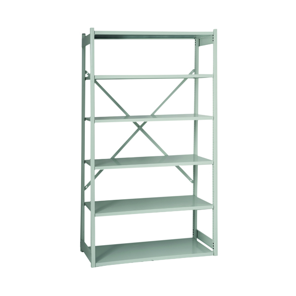 Image for Bisley Shelving Extension Kit W1000xD460mm Grey BY838033