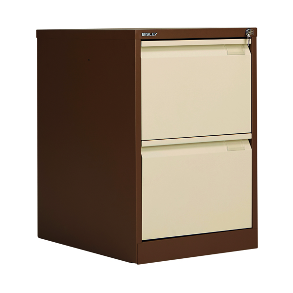 Bisley BS2E Filing Cabinet Flush Front 2D Lock C/C BS2EC/C