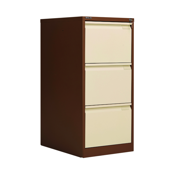 Bisley BS3E Filing Cabinet Flush Front 3D Lock C/C BS3EC/C
