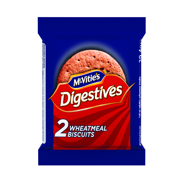 McVities Original Digestive Biscuits Twin Pack (Pack of 24) 41420