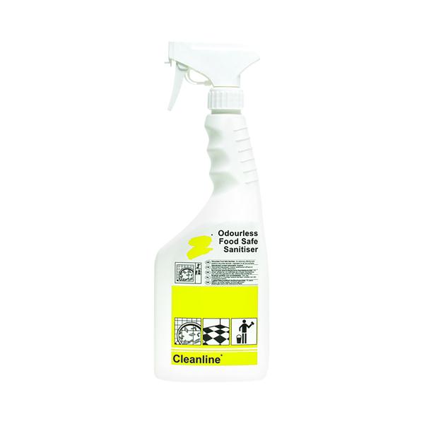 Cleanline Food Safe Sanitiser 750ml (Pack of 6) N04453