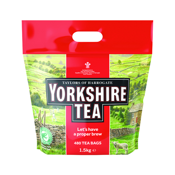 Yorkshire Tea Soft Water Tea Bags (Pack of 480) 1127