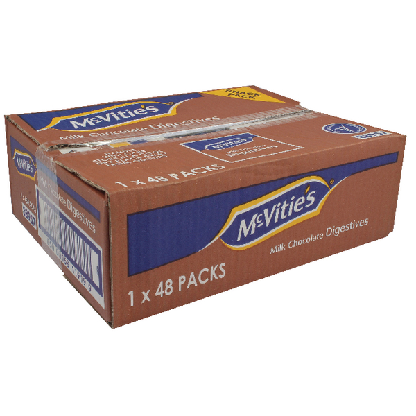 McVities Chocolate Digestive Biscuits Twin Pack (Pack of 48) 38957