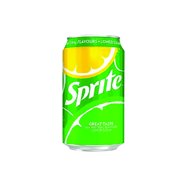 Sprite Lemon Lime Canned Drink 330ml (Pack of 24) 0402008