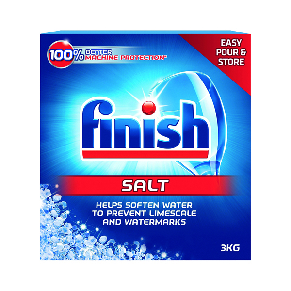 Finish Dishwasher Salt 3kg (For domestic and professional use) N07875