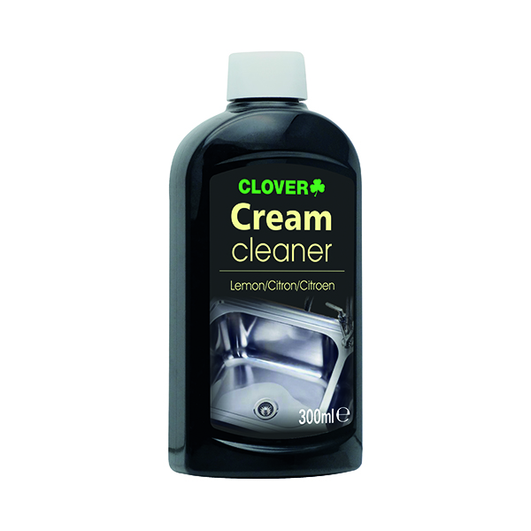 Clover Cream Cleaner 300ml (Lemon fragrance) 431STS