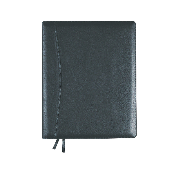 Collins Elite Diary Compact Day Per Page 2019 Black 1140V
