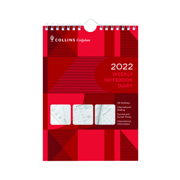 Collins Weekly Notebook Diary 2022 60