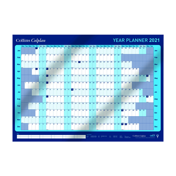 Collins Year Planner 2021 with Activity Set and Pen CWC9