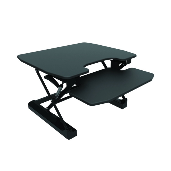 Contour Ergonomics Sit-Standing Desk Black