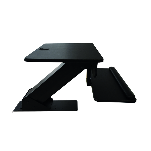 Contour Ergonomics Sit-Stand Workstation Black CE77691