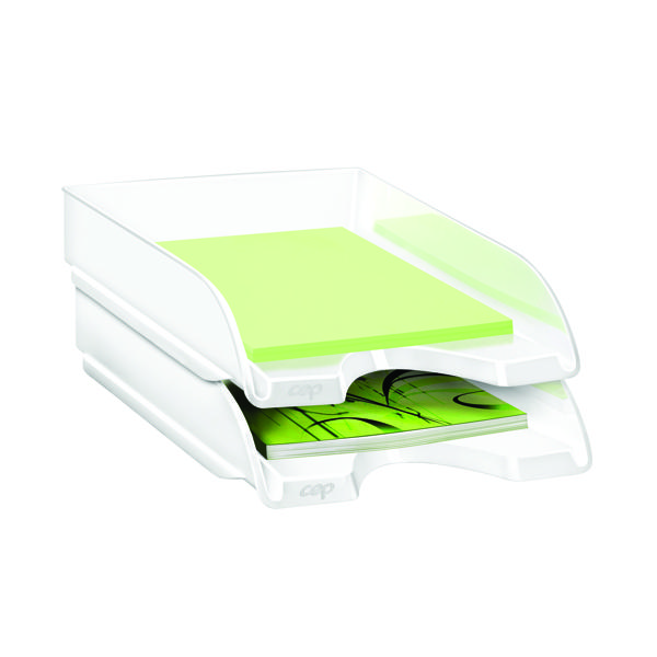 CEP Pro Gloss Letter Tray White 200GWHITE