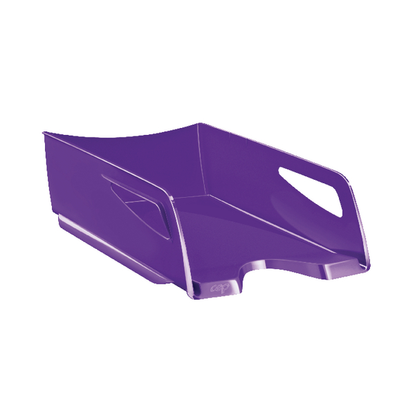 CEP Maxi Gloss Letter Tray Purple
