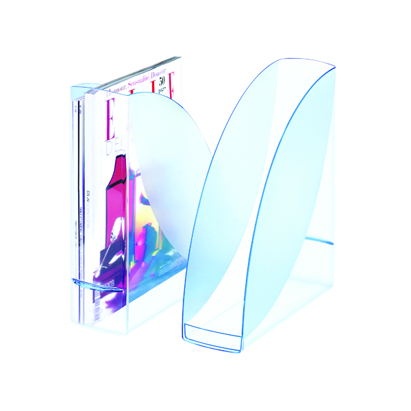 CEP Ice Blue Magazine Rack 674i Blue