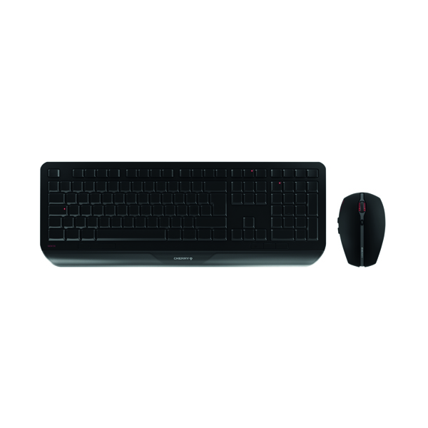 Cherry Gentix Desktop Keyboard and Mouse Set JD-7000GB-2