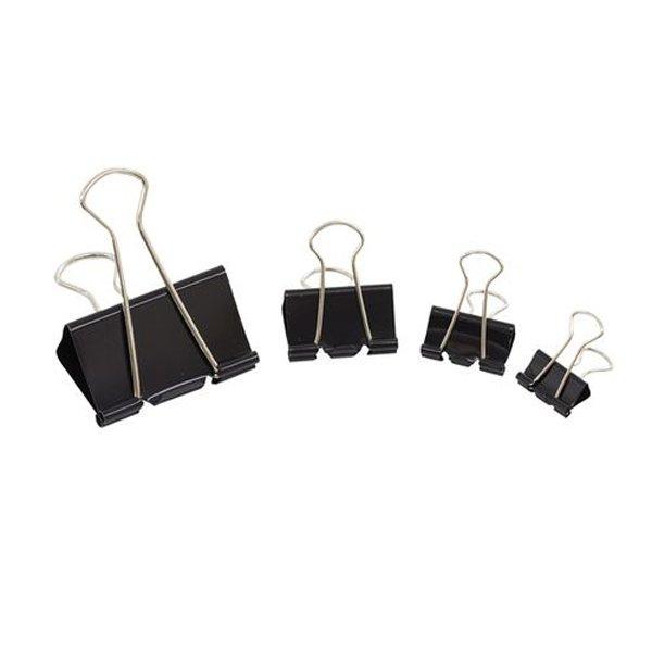 Initiative Foldback Clips 32mm Black Pack 10