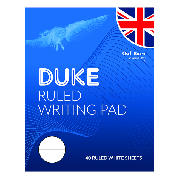 Image for Duke Ruled Writing Pad 40 Sheets (Pack of 10) OBS066