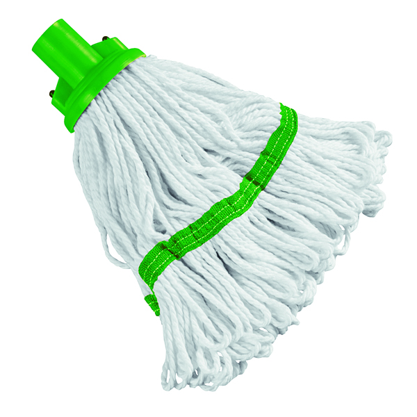 Image for 180g Hygiene Socket Mop Head Green 103061GN