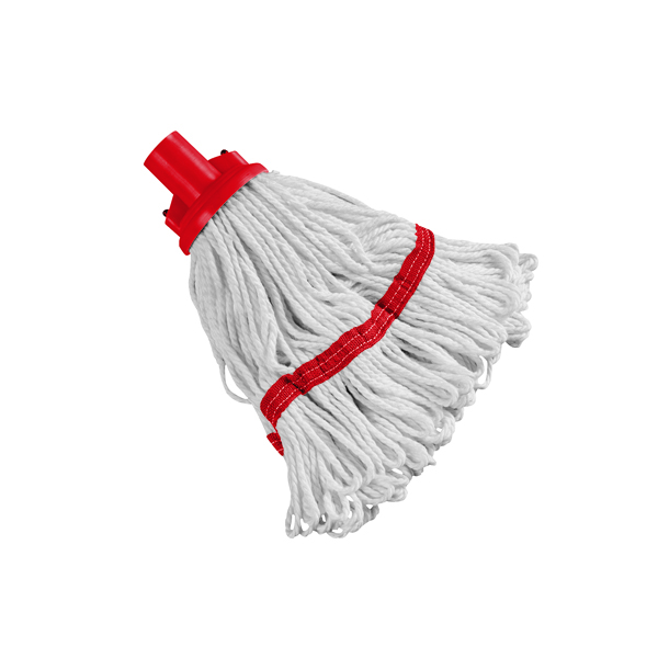 Image for 180g Hygiene Socket Mop Head Red 103061RD