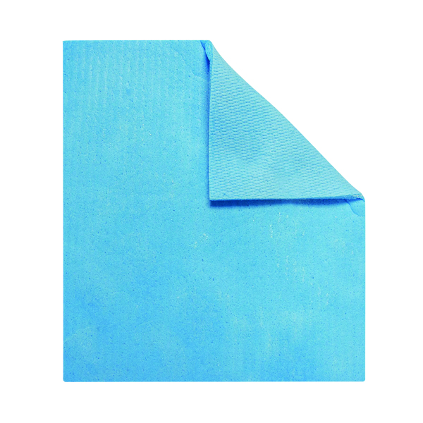 Robert Scott Sponge Cloths Blue (Pack of 10) 100236