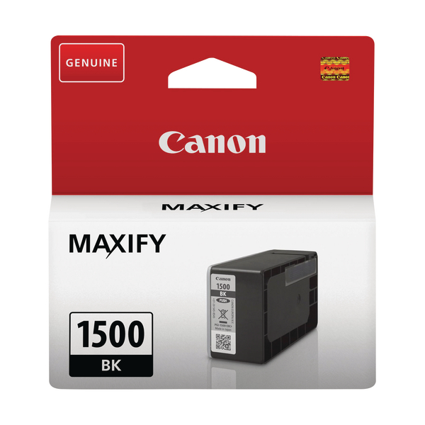 Canon PGI-1500BK Black Ink Cartridge 9218B001