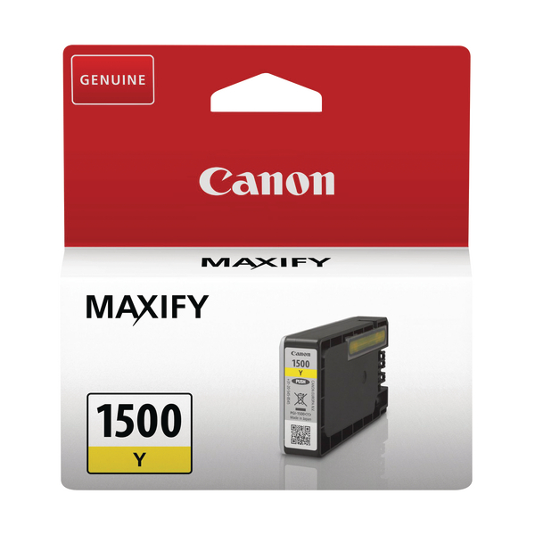 Canon PGI-1500Y Yellow Ink Cartridge 9231B001