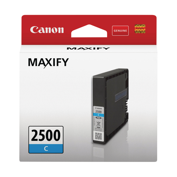 Canon PGI-2500C Cyan Ink Cartridge 9301B001
