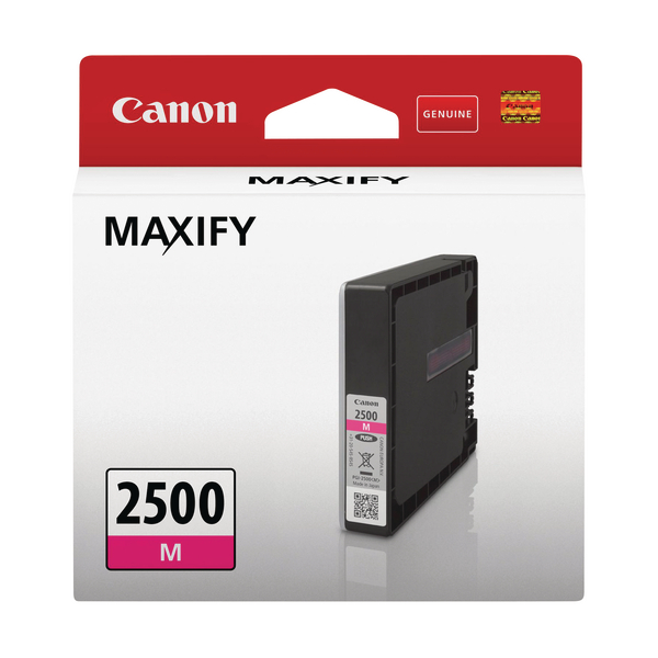 Canon PGI-2500M Magenta Ink Cartridge 9302B001