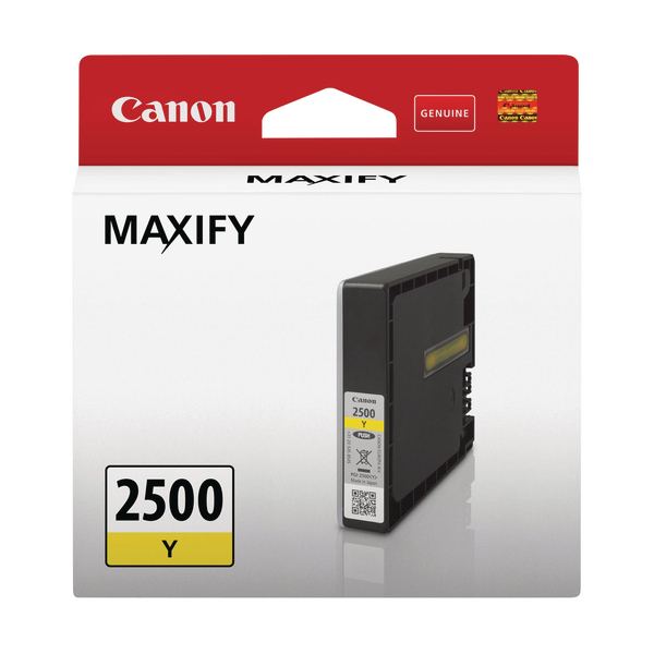 Canon PGI-2500Y Yellow Ink Cartridge 9303B001