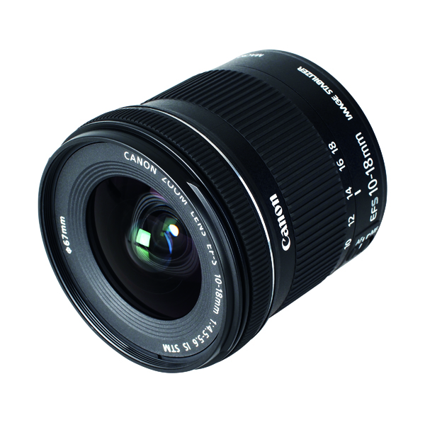 Image for Canon EFS 10-18mm F4.5-5.6 STM Lens 9519B005AA