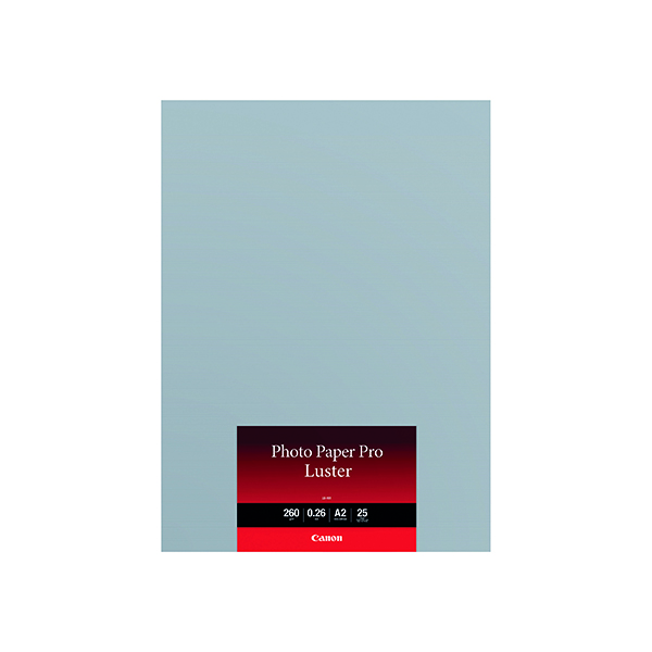 Canon A2 Photo Paper Pro Luster (Pack of 25) 6211B026