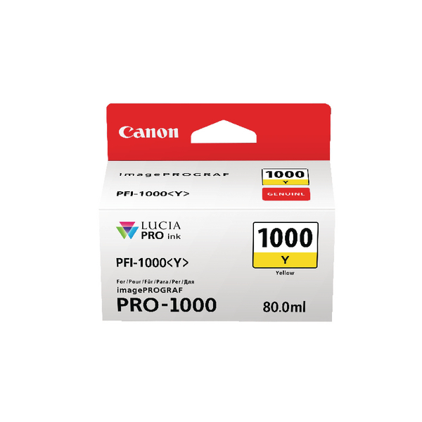 Canon Pro-1000 Yellow Ink Tank 0549C001