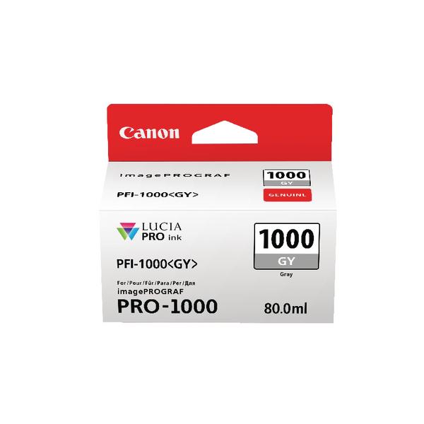 Canon Pro-1000 Grey Ink Tank 0552C001