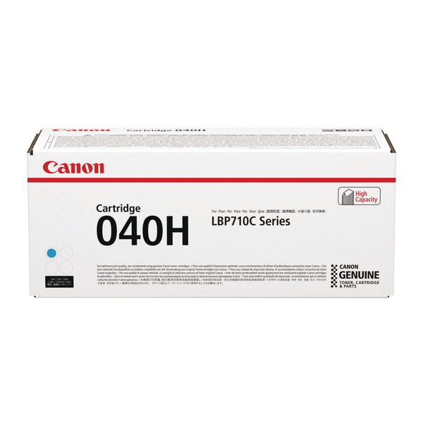Canon 040H Cyan High Capacity Toner Cartridge 0459C001
