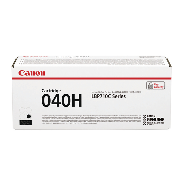 Canon 040H Black High Capacity Toner Cartridge 0461C001