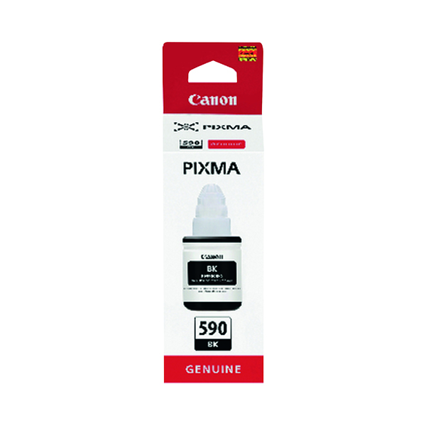 Canon Gi-590 Black Ink Bottle 1603C001