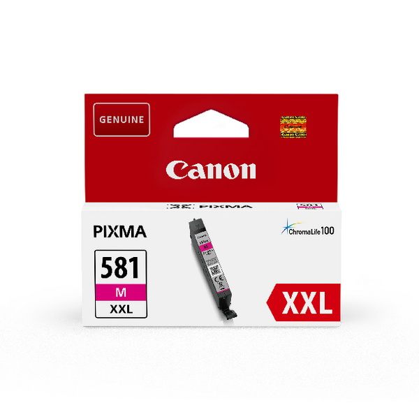 Canon CLI-581XXL Magenta Ink Cartridge 1996C001