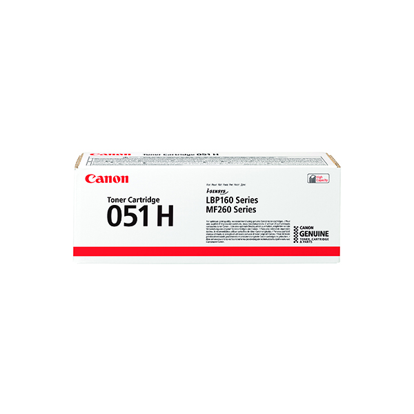 Canon CRG 051 High Yield Toner 2169C002