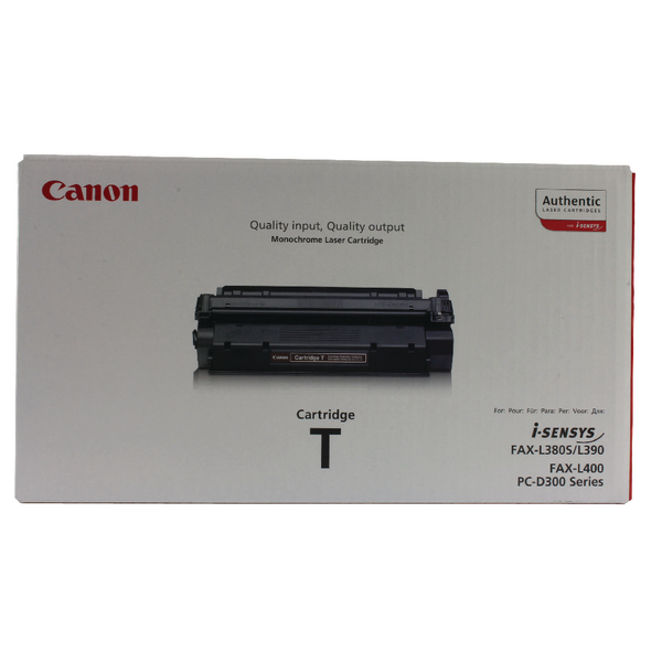 Canon T Black Fax Laser Toner Cartridge 7833A002