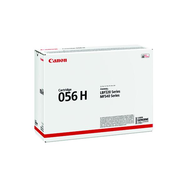 Canon 056H Black High Yield Laser Toner Cartridge 3008C002